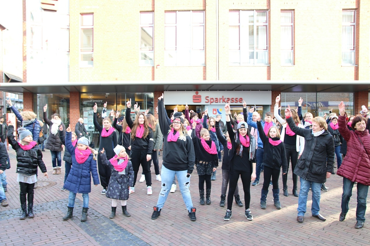 One Billion Rising © Stadt Nordhorn